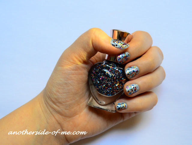 tribal-snowflake-glitter-nail-art-polish - AnotherSide Of Me