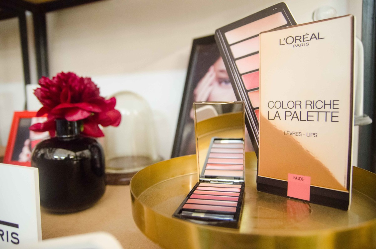 l'oreal paris color riche la palette nude lips
