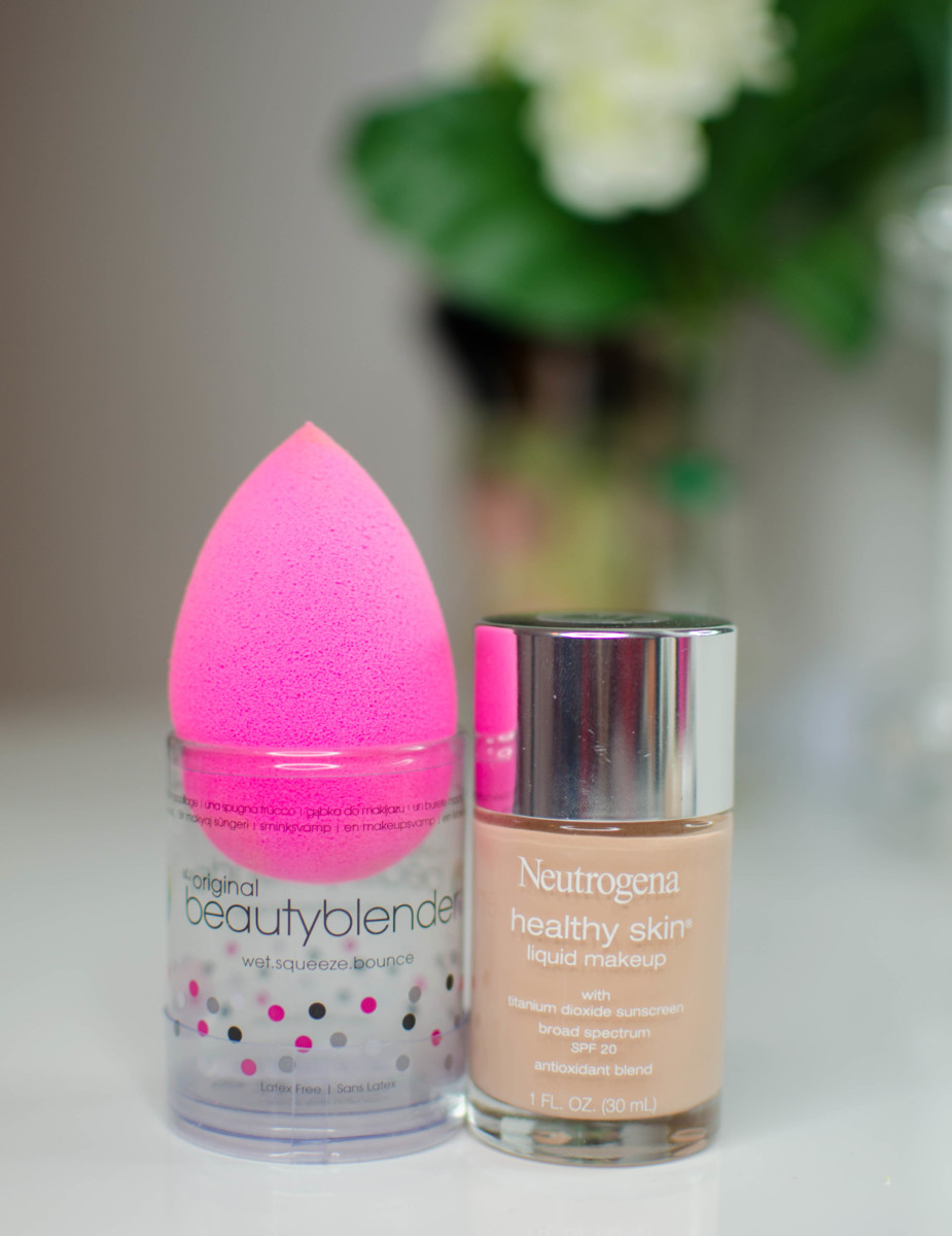 neutrogena healthy skin and beauty blender