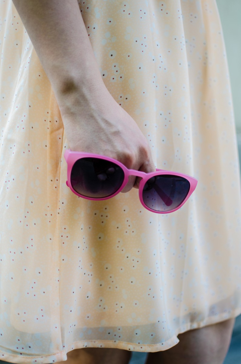 zero uv pink sunglasses