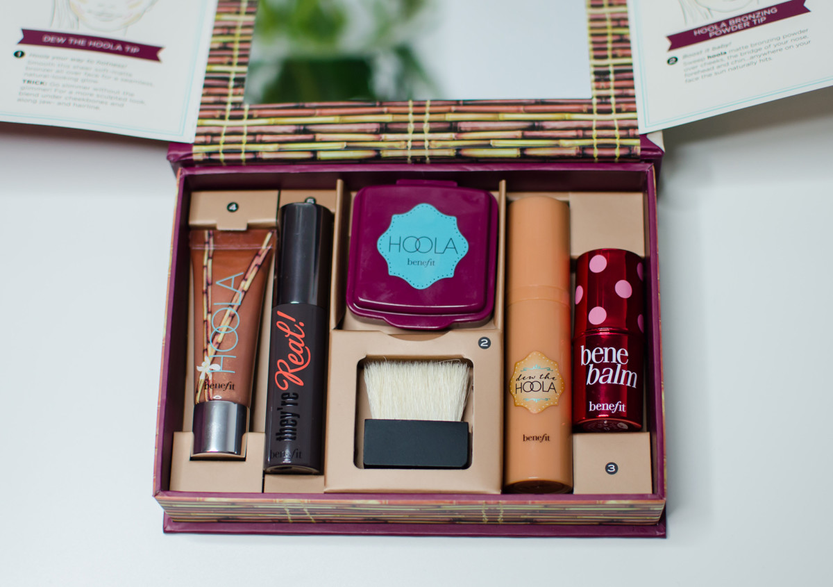 benefit do the hoola complexion, lips and eyes kit