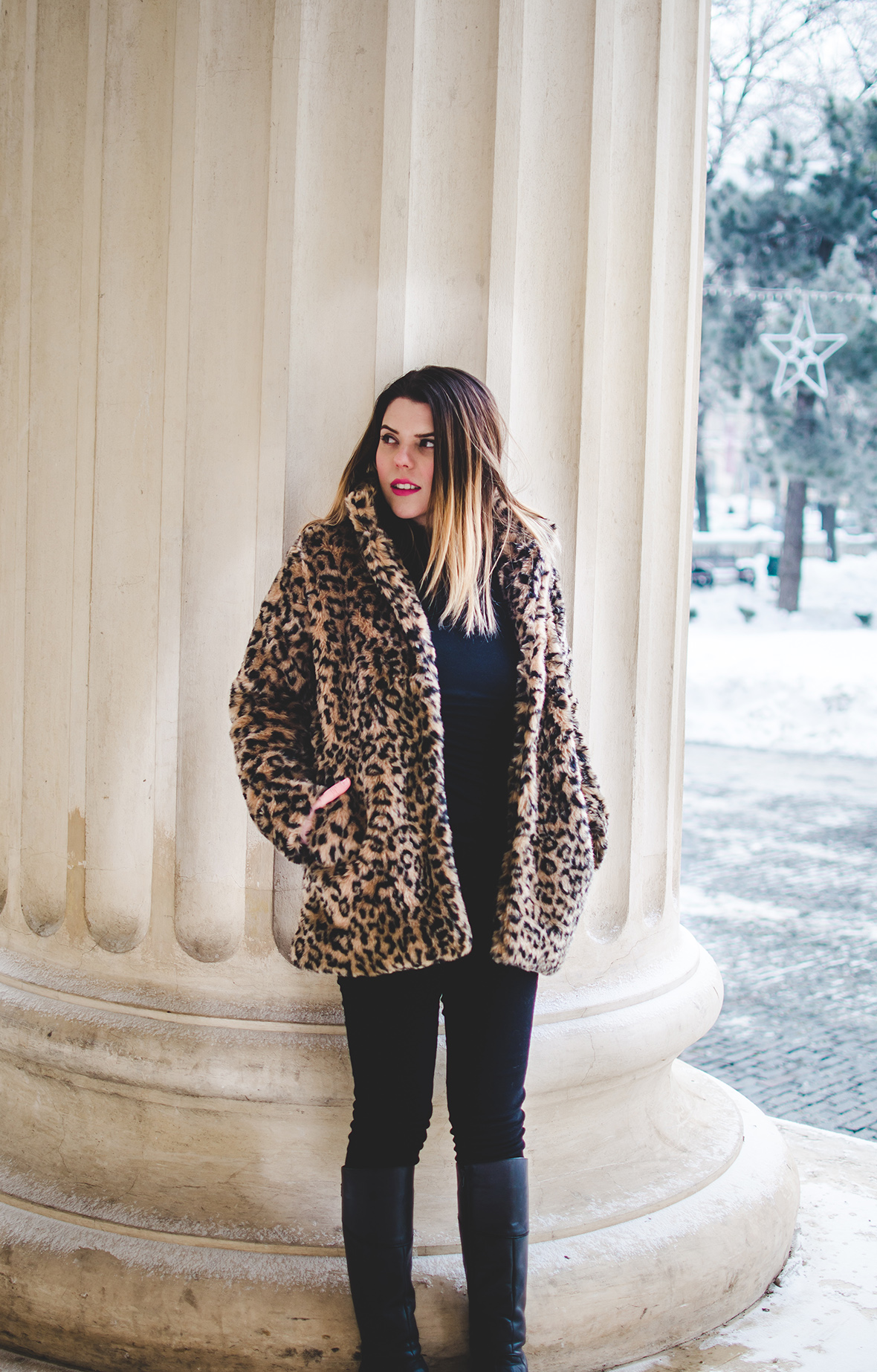faux fur jacket zaful