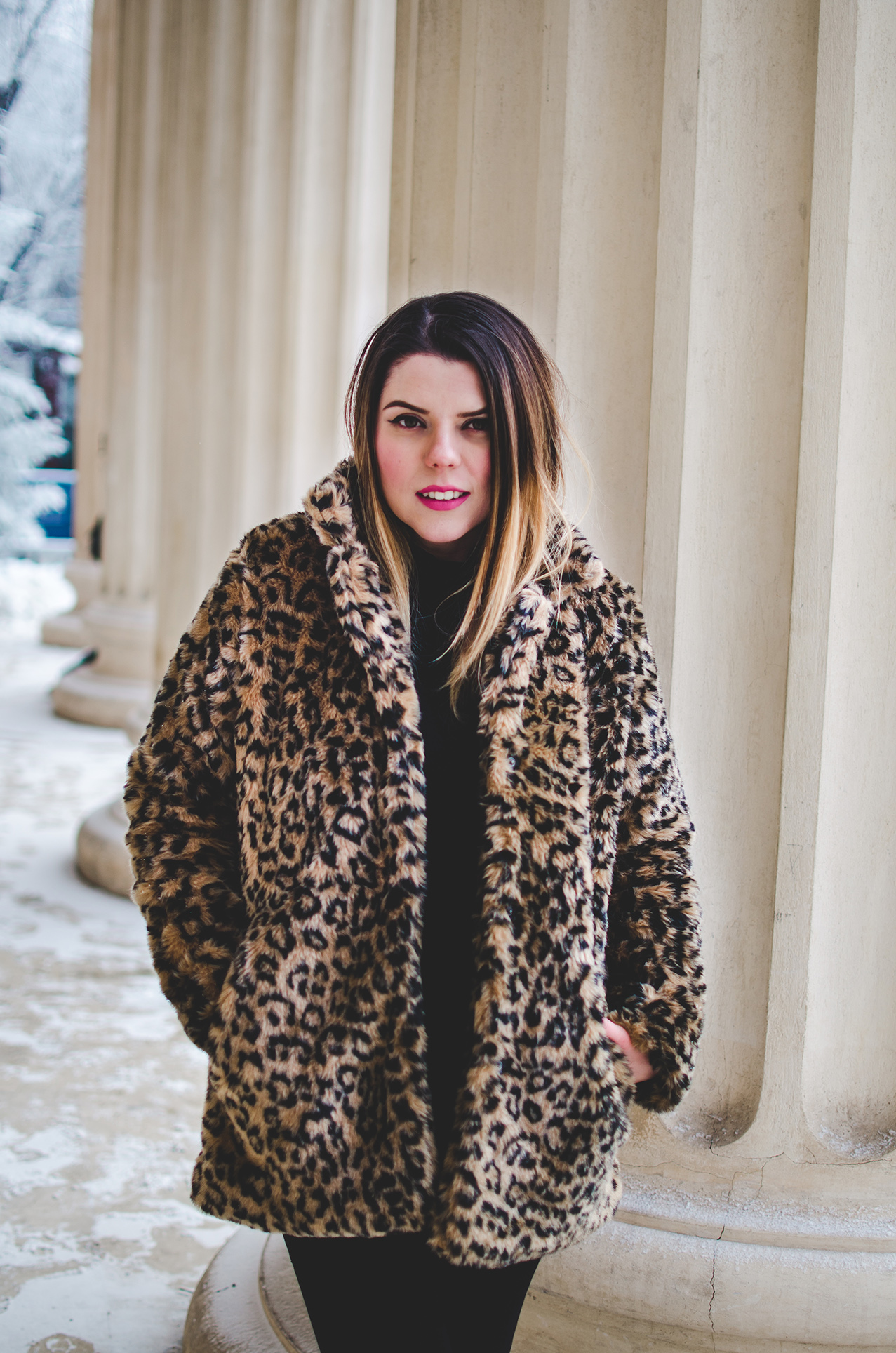 leopard print coat zaful anotherside of me blog