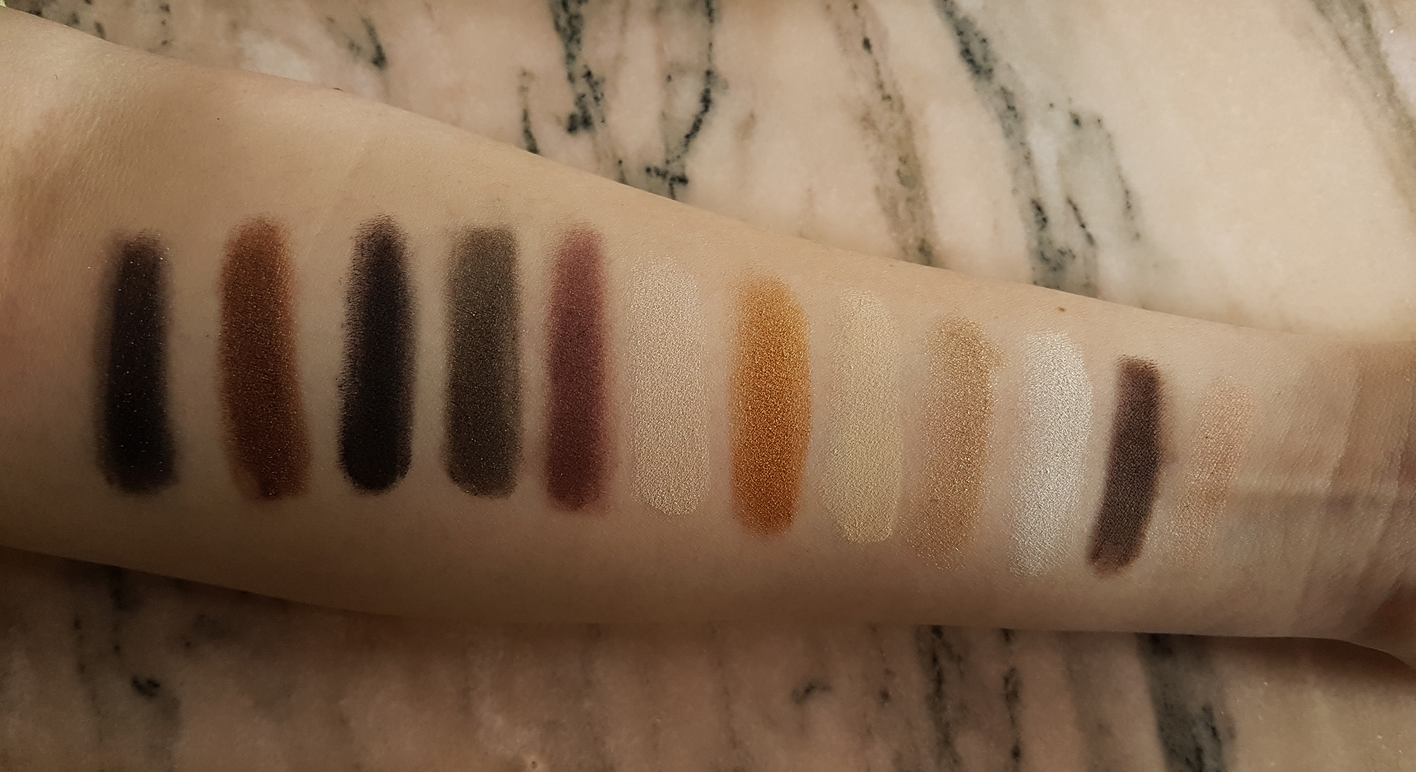 maybelline 24 k nudes palette swatches anothersid