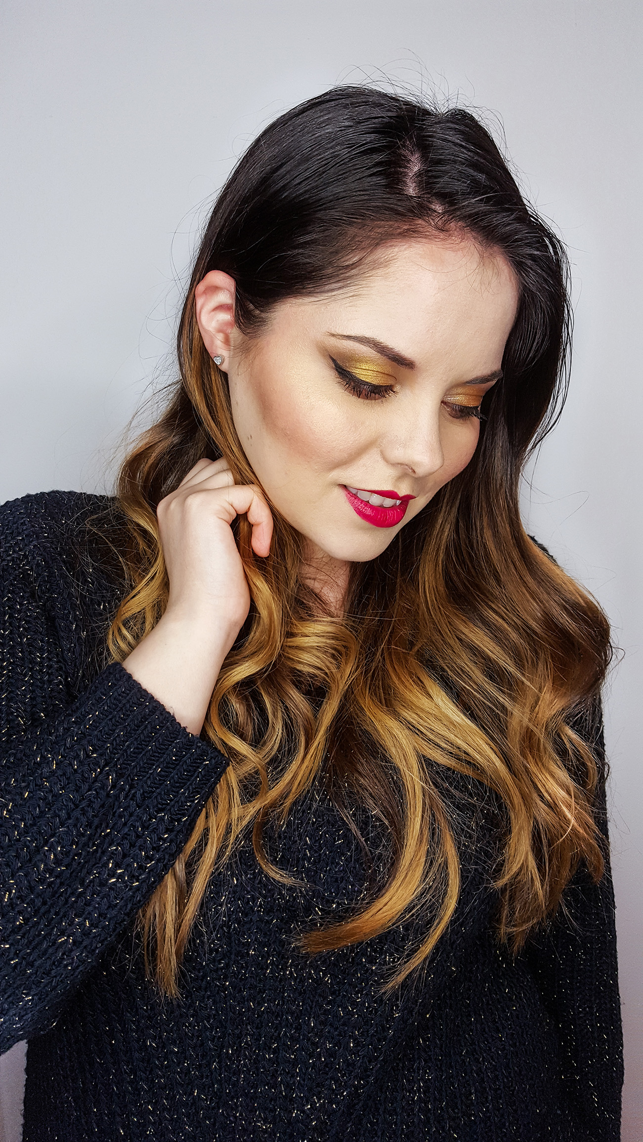 valentines's day makeup tutorial with maybelline products anotherside of me