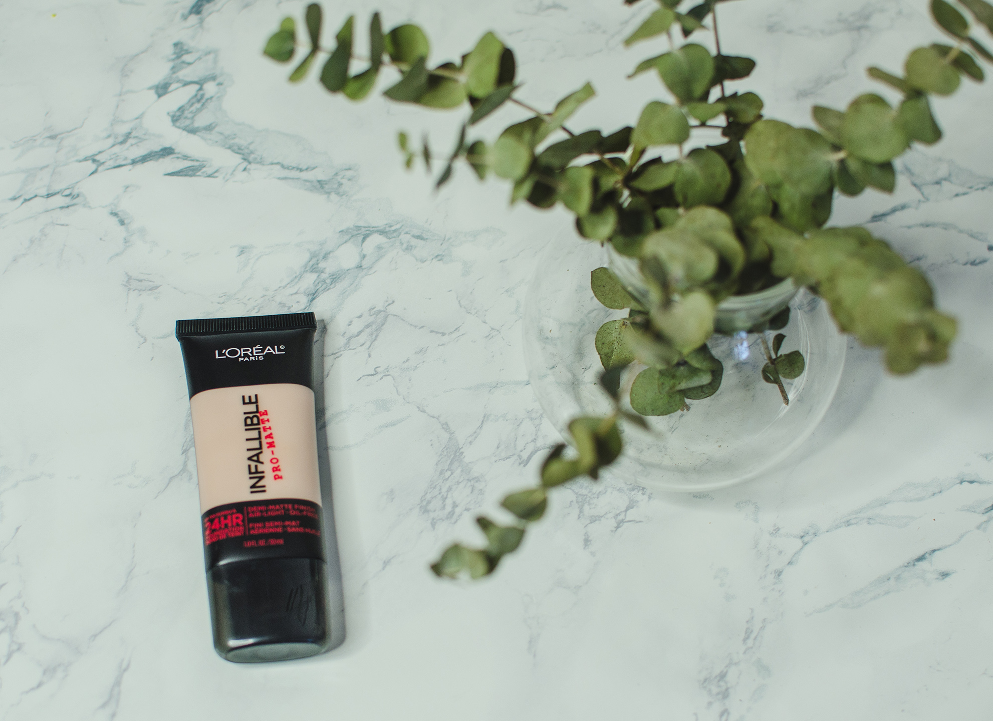 loreal paris infallible pro matte foundation review