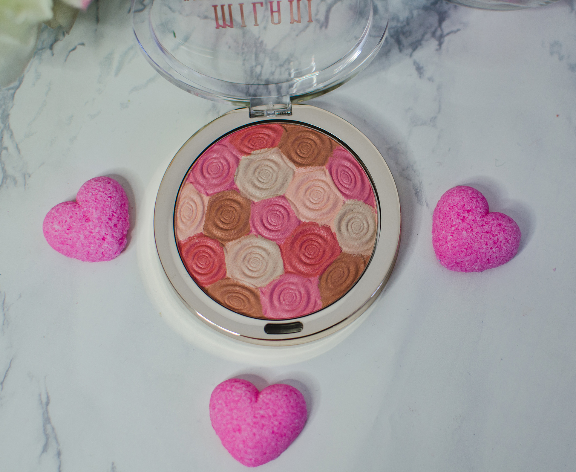 milani blush and highlighter