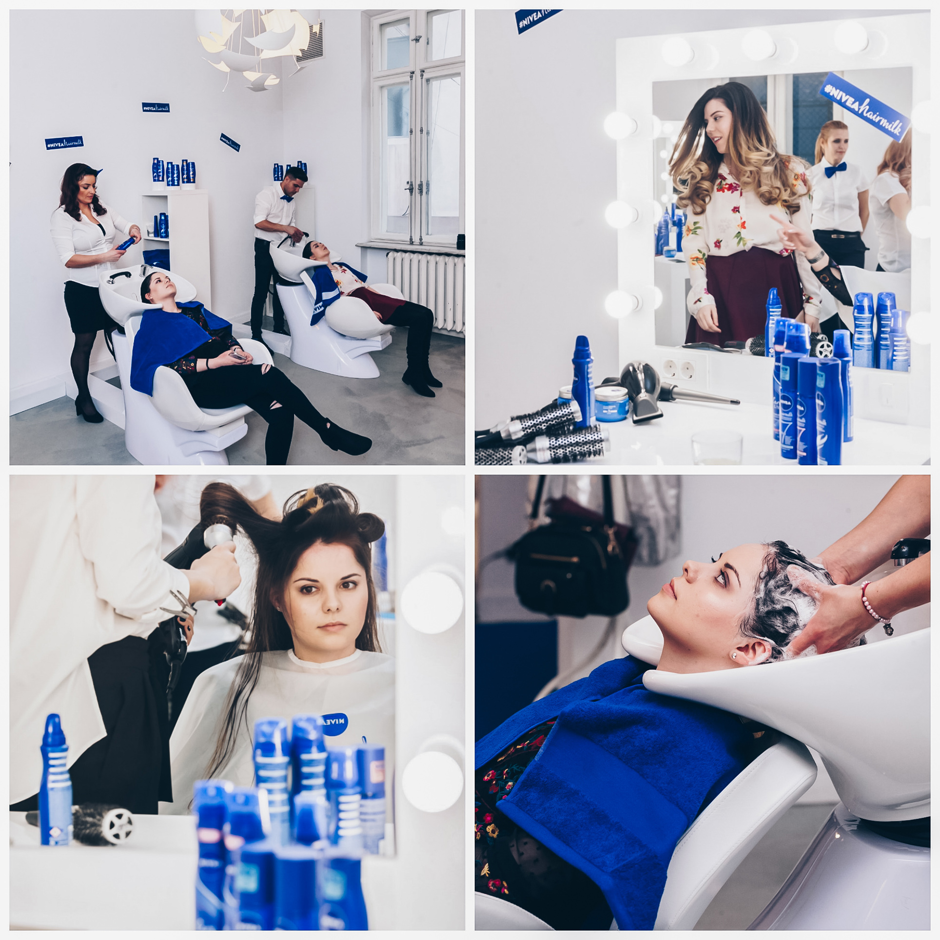 nivea hair milk experience