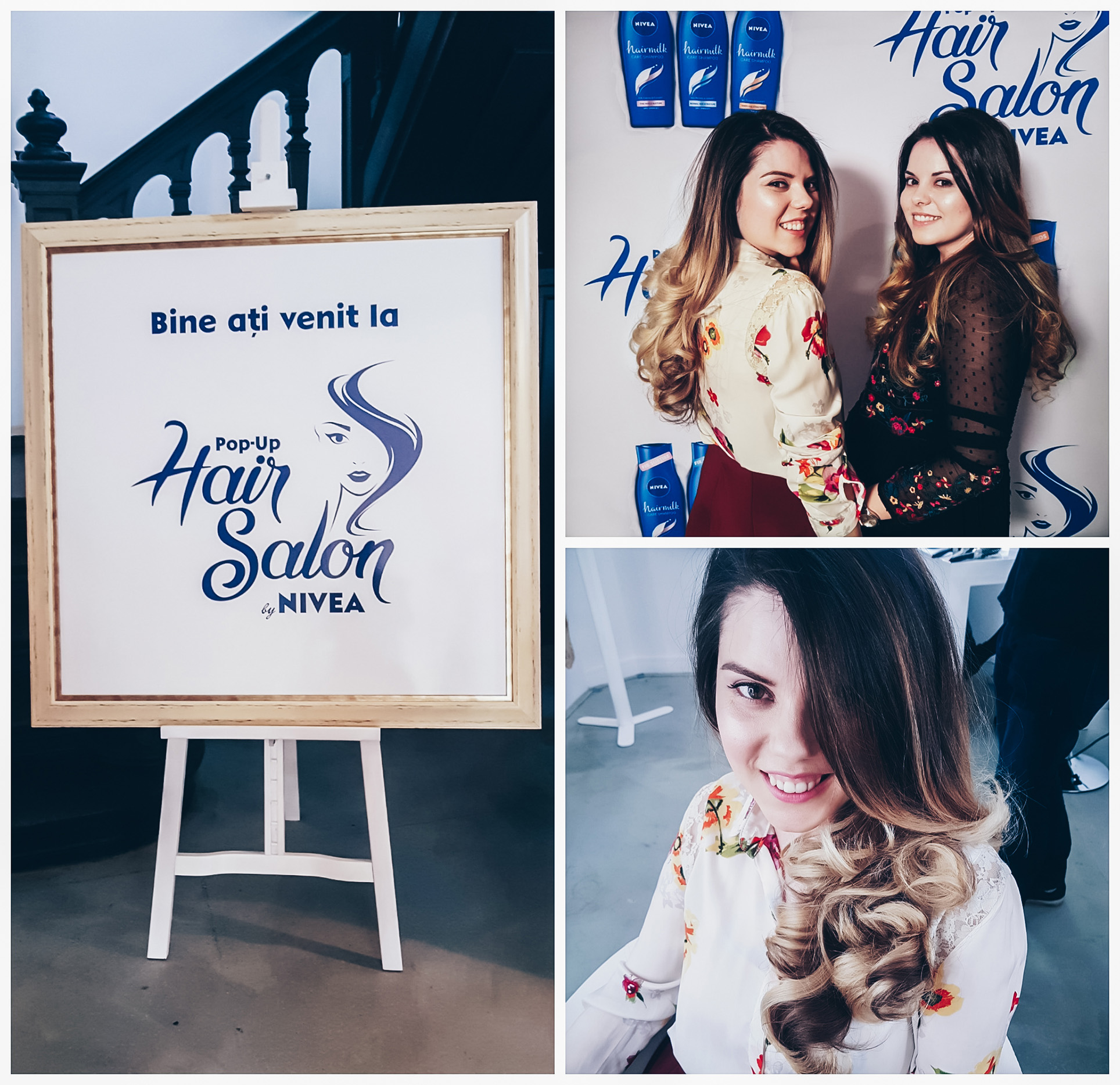 nivea pop up hair salon