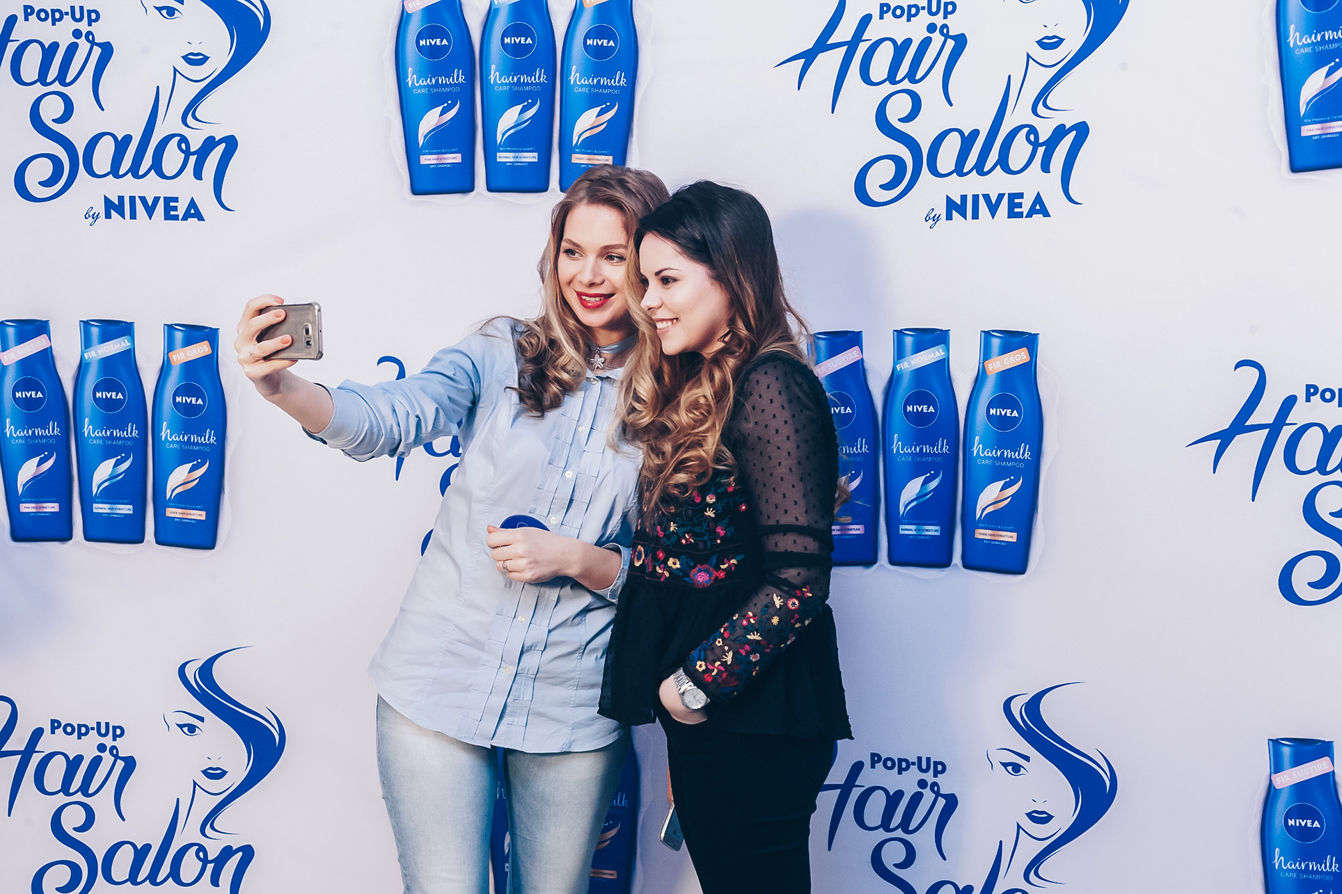 nivea pop up salon