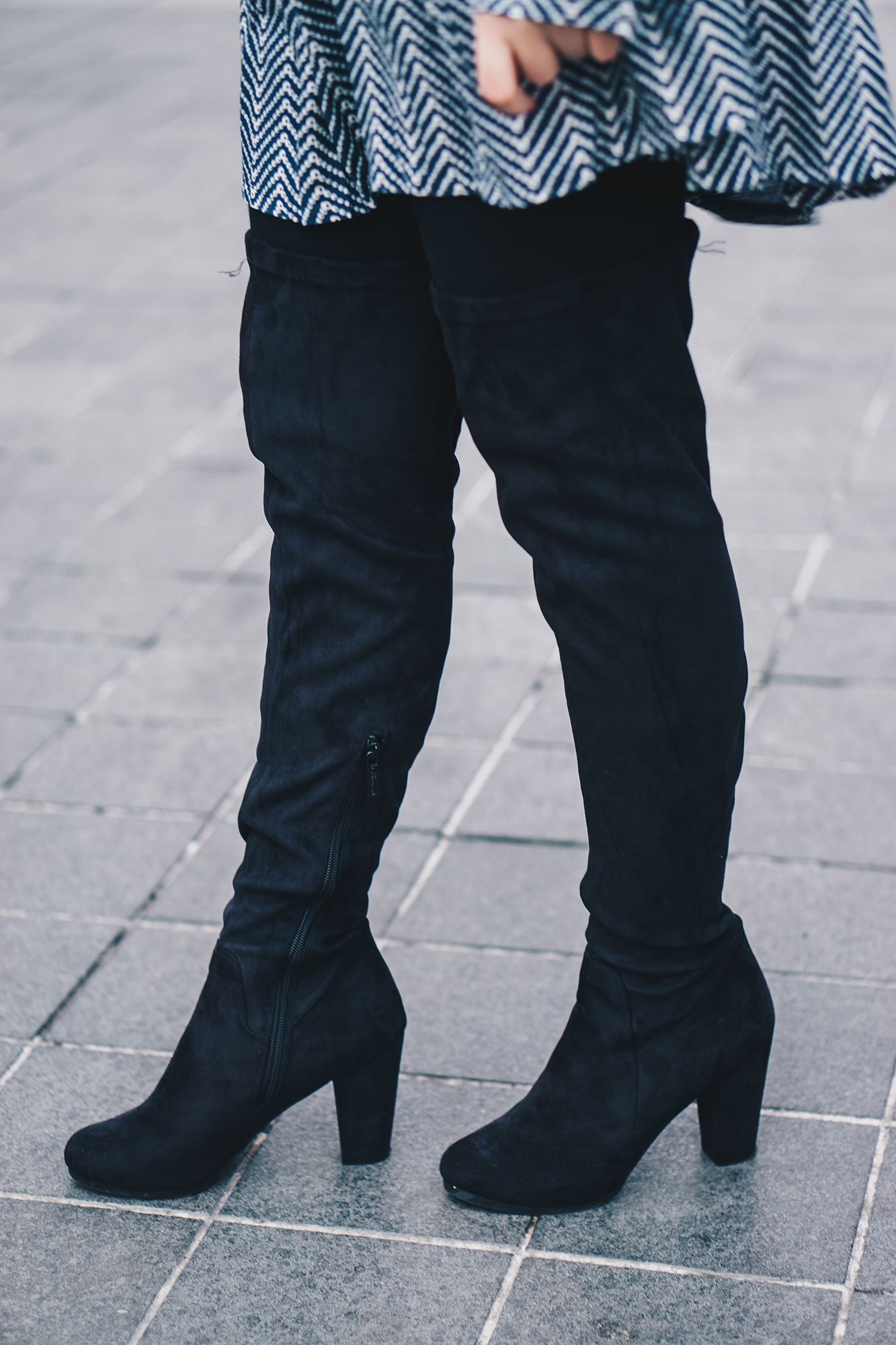 ami club wear over the knee boots