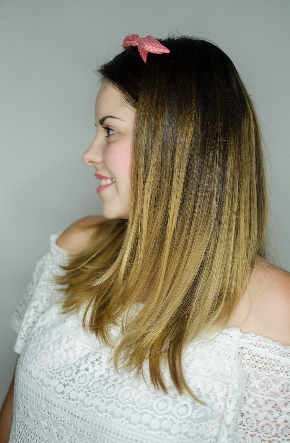 balayage medium hair