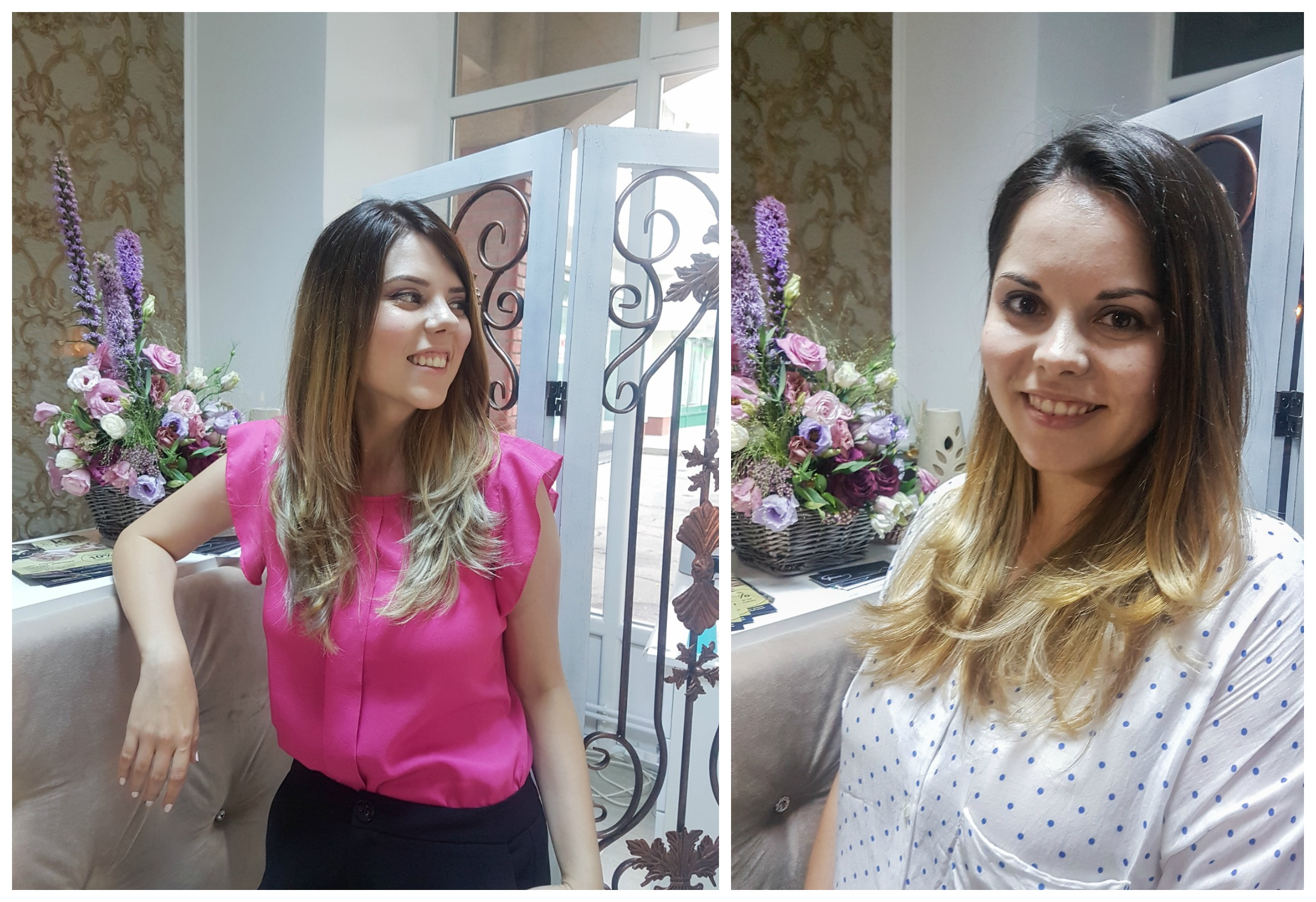 balayge posh beauty salon before and after