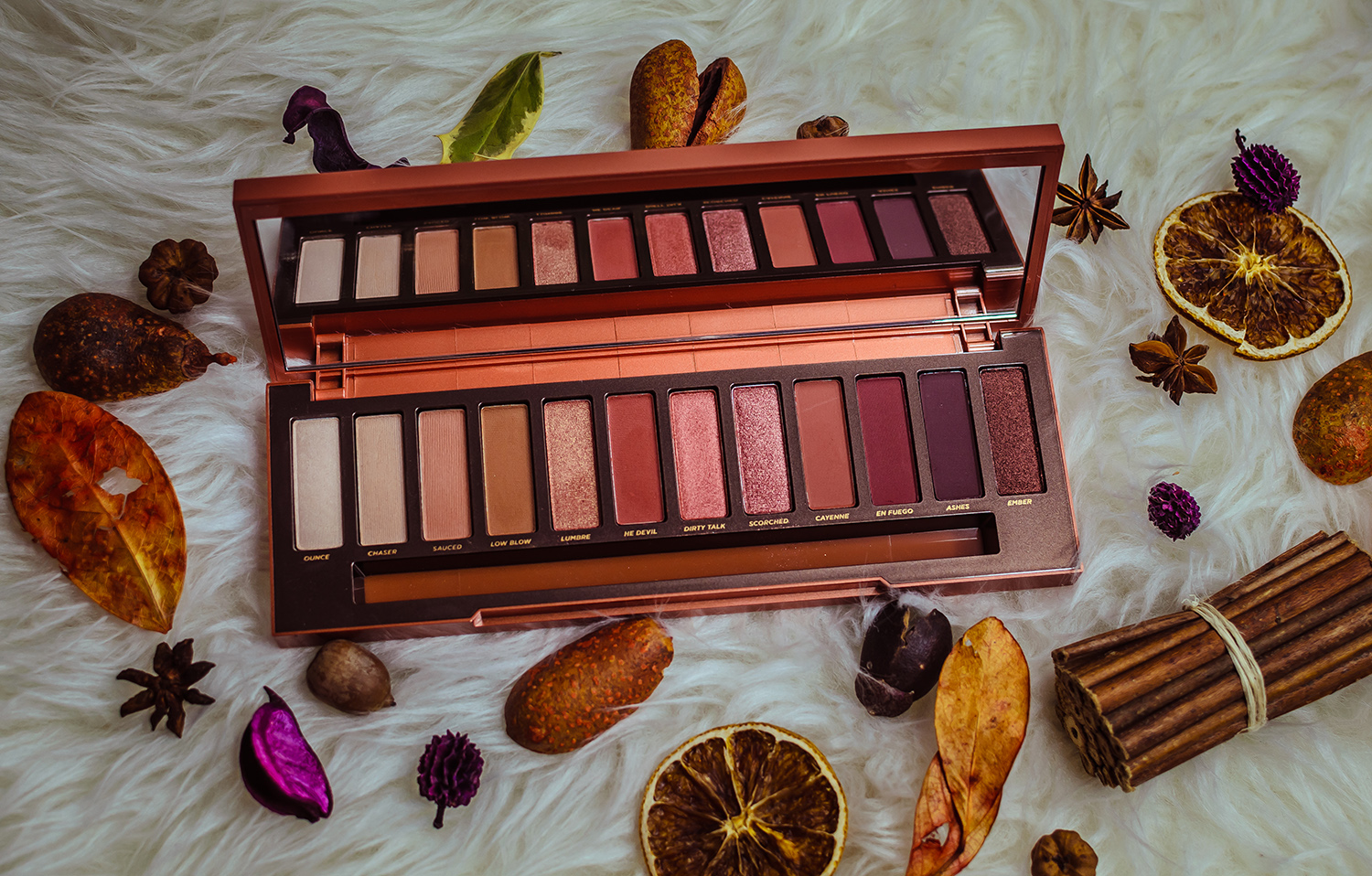 urban decay naked heat review and swatch
