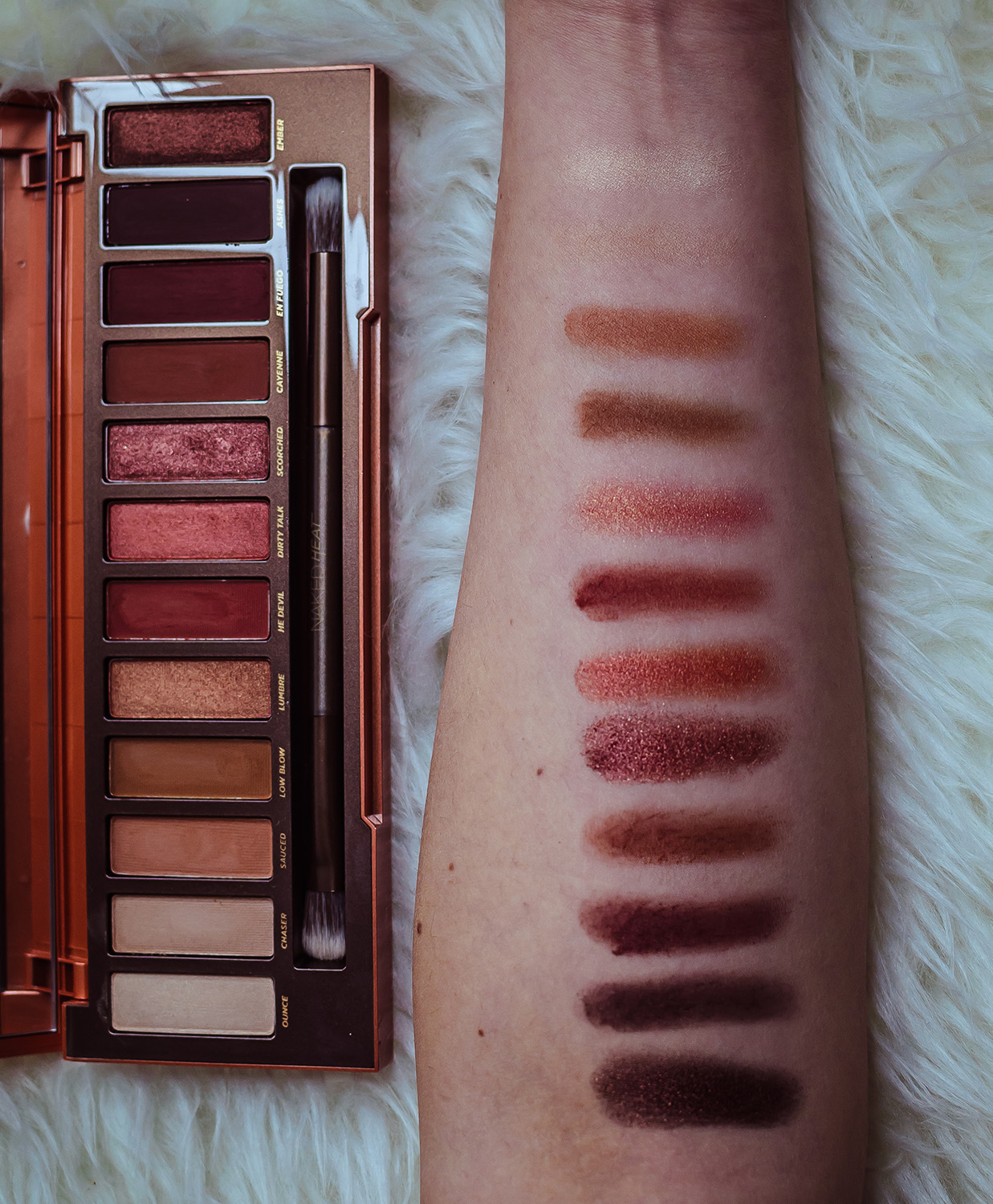 urban decay naked heat swatch